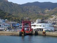 小豆島、福田港